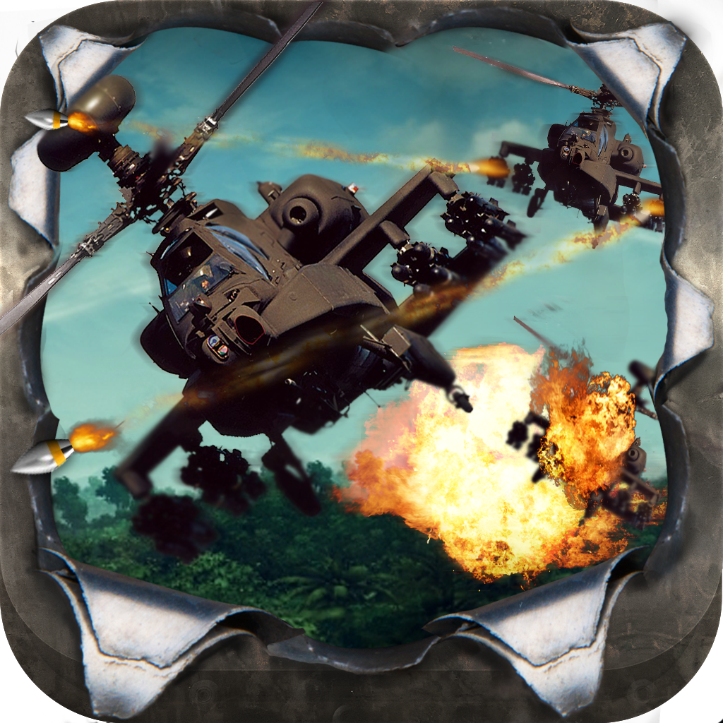 Angry Battle Choppers - A Helicopter War Game
